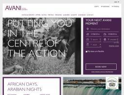 AVANI Hotels & Resorts Promo Codes