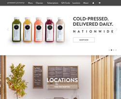 About Pressed Juicery