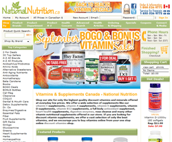 National Nutrition Coupon Codes