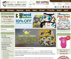 Nicki's Diapers Coupons