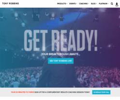 Tony Robbins Promo Codes