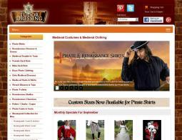 Tudor Dressing Promo Codes