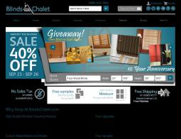Blinds Chalet Coupon