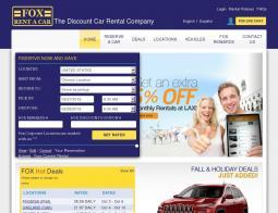 Fox Rental Discount Code
