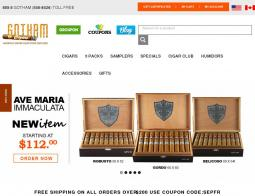 Gotham Cigars Coupon