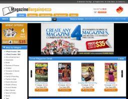 Magazine Bargains Coupons
