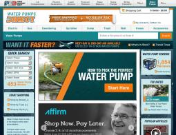 Water Pumps Direct Coupon Codes