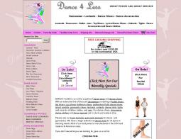 Dance 4 Less Coupons