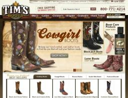 TimsBoots.com Coupon Codes