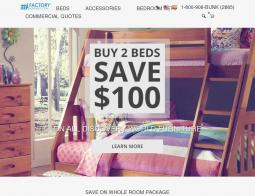 500 Off Factory Bunk Beds Coupon Codes December 2020