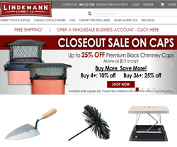 Lindemann Chimney Supply Coupons
