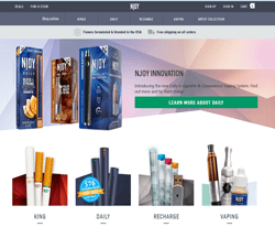 97% Off NJOY Promo Codes & Coupons – August 2019