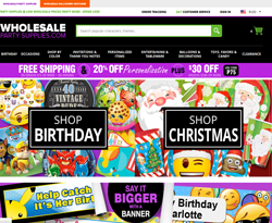 Wholesale Party Supplies promo code