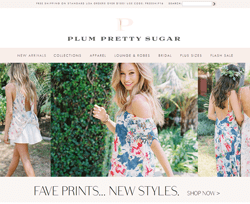 Plum Pretty Sugar Coupons