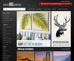 Great Big Canvas Coupons