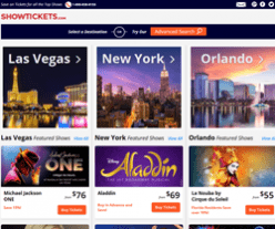 ShowTickets Promo Codes