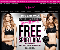 La Senza Coupon Codes