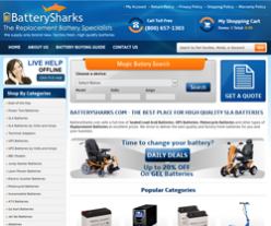 Save with Battery Sharks discount codes