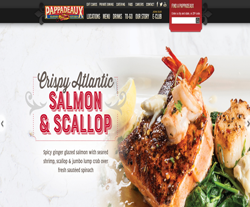 picture about Pappadeaux Coupons Printable called Help save $$$ with Pappadeaux Seafood Kitchen area Discount coupons Promo