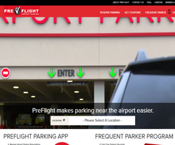PreFlight parking Promo Codes