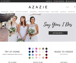 16333bc4c3c10 Get 50% Off w/ Azazie Promo Codes & Coupon Codes | Fyvor