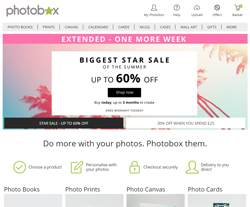 PhotoBox Discount Codes