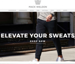 Mack Weldon Promo Codes