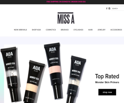 MISS A promo code