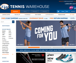 Click to get Tennis Warehouse Coupon Codes & Promo Codes