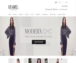 Izabel London Discount Codes