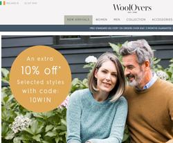 WoolOvers Ireland promo code