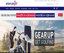 American Golf Coupon