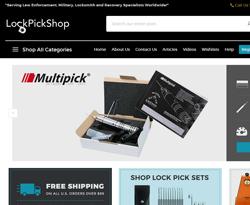 LockPickShop.com Coupon Codes