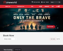 Cineworld Voucher Codes