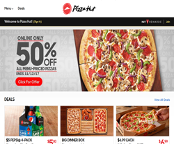 We have listed the Pizza Hut Coupon Code, Offers and Deals For This Month Below