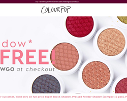 Colourpop coupon code youtube