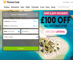 Thomas Cook promo code