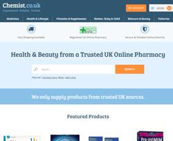 Chemist.co.uk Discount Codes