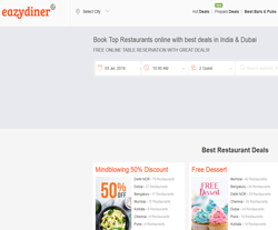 Eazydiner Coupons