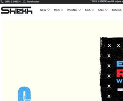 Shiekh Promo Codes