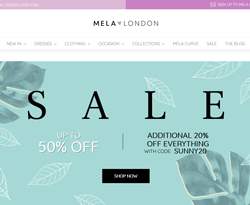 Mela London Discount Codes