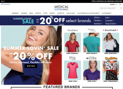 Medical Scrubs Mall Coupon