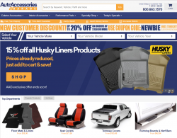 Auto Accessories Garage Coupons