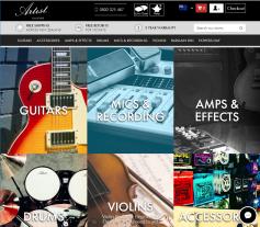Artist Guitars NZ Coupon Codes