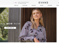 Evans UK Discount Codes