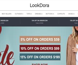 Lookdora Promo Codes