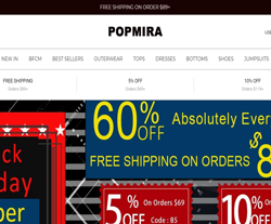 Popmira Coupon Codes