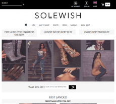 Solewish Coupon Codes