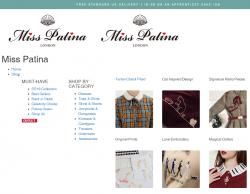 Miss Patina Discount Codes