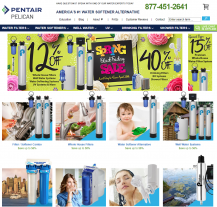 Pentair-Pelican Water Coupons